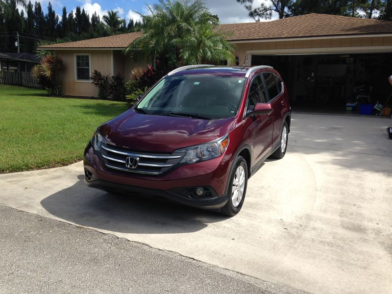 used 2013 honda cr v for sale by owner in stuart fl 34997. Black Bedroom Furniture Sets. Home Design Ideas