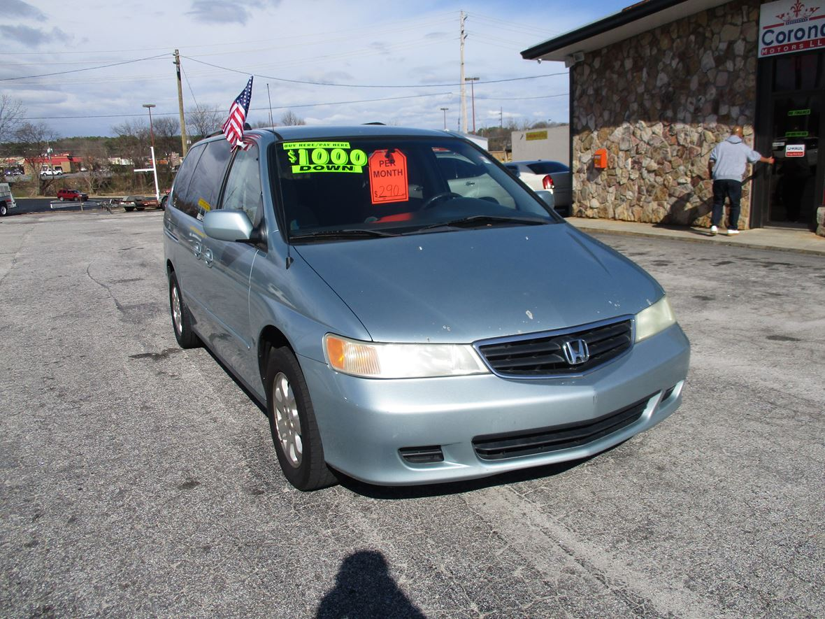 2003 honda odyssey for sale by owner in covington ga 30014. Black Bedroom Furniture Sets. Home Design Ideas