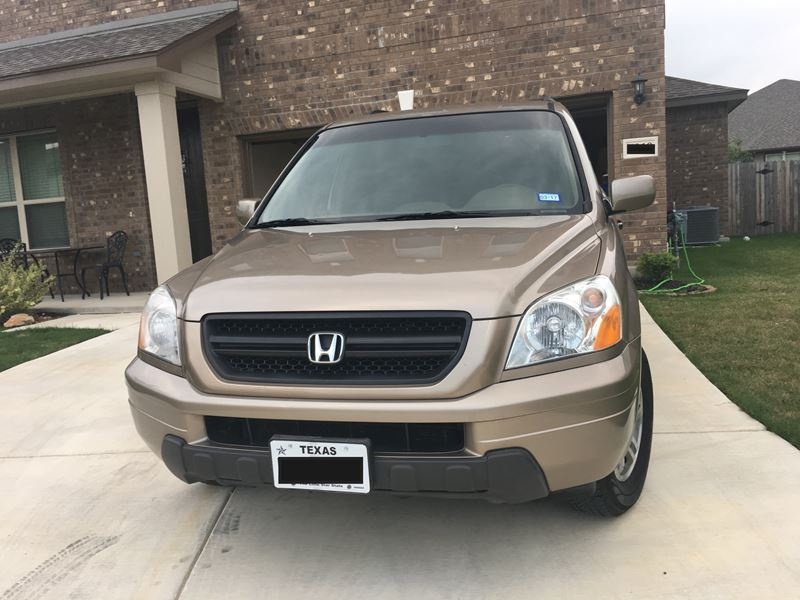 used 2003 honda pilot for sale by owner in san antonio tx 78299. Black Bedroom Furniture Sets. Home Design Ideas