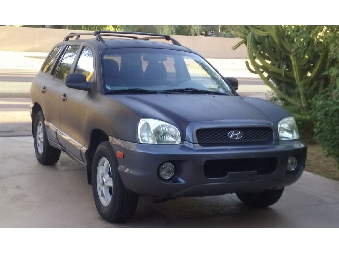 2003 Hyundai Santa Fe for sale by owner in Scottsdale