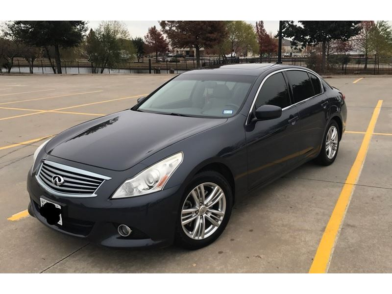 used 2012 infiniti g25 for sale by owner in blue ridge tx. Black Bedroom Furniture Sets. Home Design Ideas