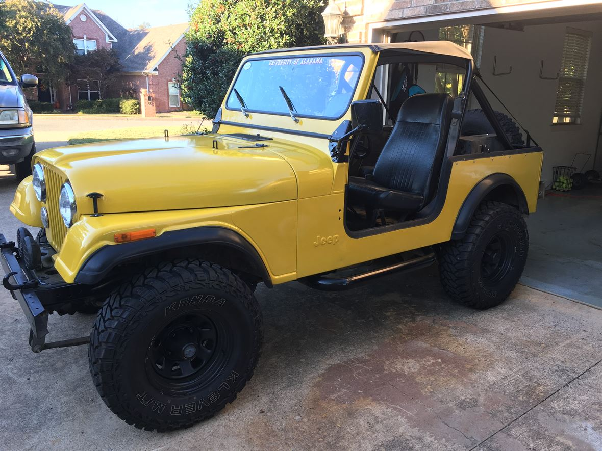 1983 Jeep CJ-7 for sale by owner in Maumelle