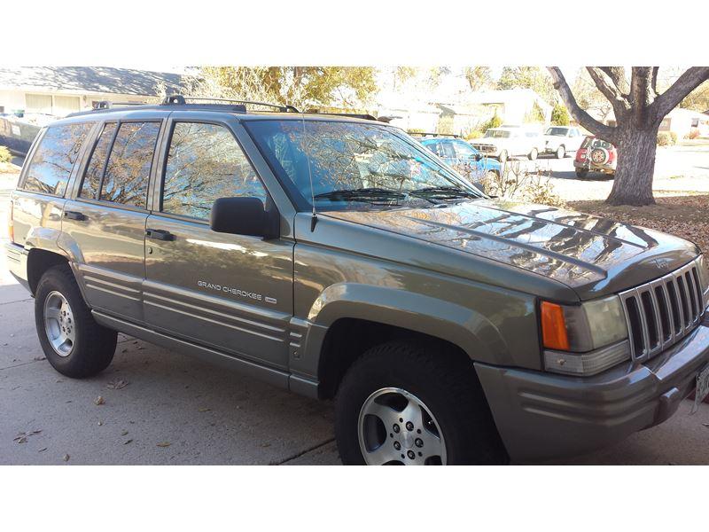 1998 jeep grand cherokee private car sale in colorado springs co 80907. Black Bedroom Furniture Sets. Home Design Ideas