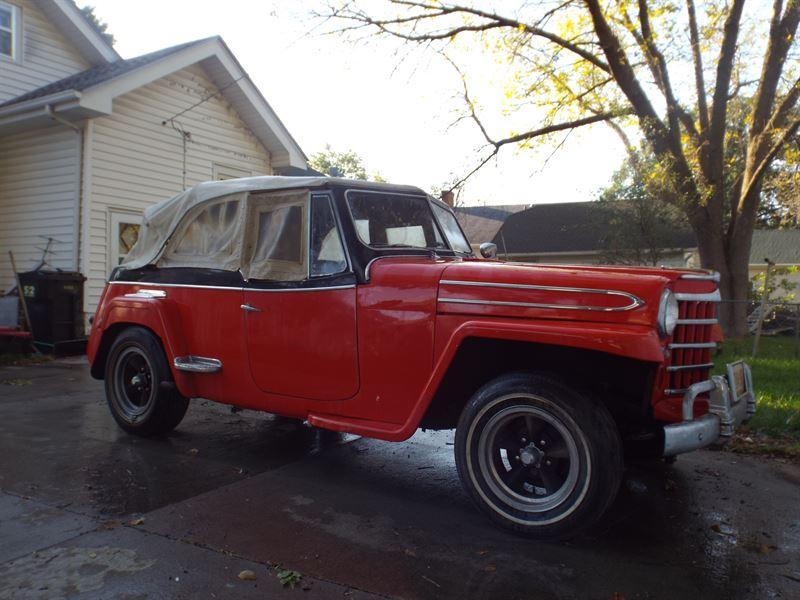 1949 jeep jeepster antique car fremont ne 68026. Black Bedroom Furniture Sets. Home Design Ideas