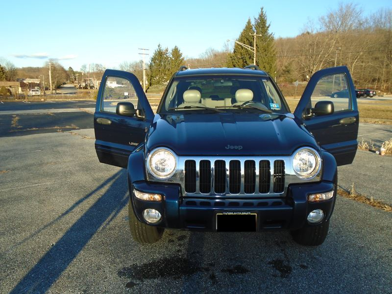 2002 jeep liberty for sale by owner in hamburg nj 07419. Black Bedroom Furniture Sets. Home Design Ideas