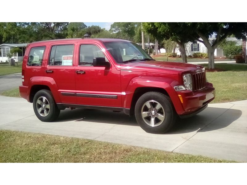 2008 jeep liberty for sale by owner in north fort myers fl 33918. Black Bedroom Furniture Sets. Home Design Ideas
