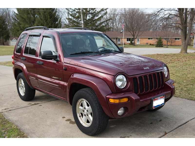 used 2003 jeep liberty limited for sale by owner in mason oh 45040. Black Bedroom Furniture Sets. Home Design Ideas