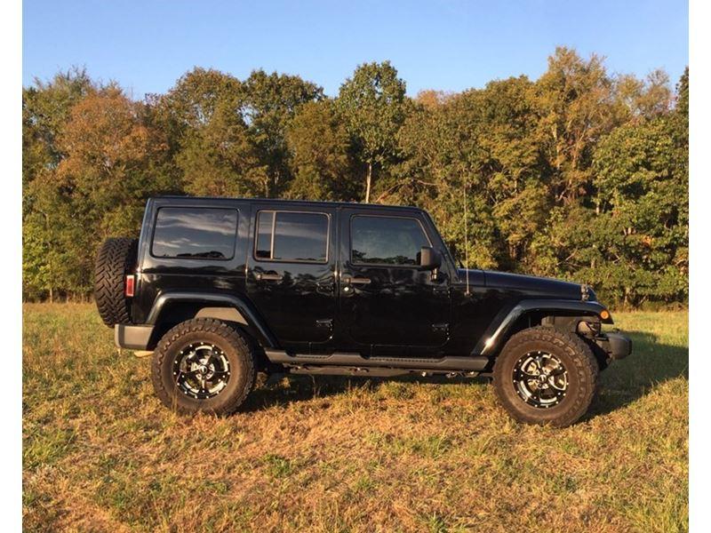 2012 jeep sahara wrangler unlimited by owner huntersville nc 28078. Black Bedroom Furniture Sets. Home Design Ideas