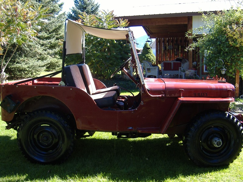 1948 jeep willys classic car sale by owner in paradise ut 84328. Black Bedroom Furniture Sets. Home Design Ideas