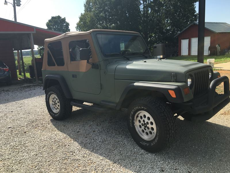 1997 jeep wrangler for sale by private owner in blue springs ms 38828. Black Bedroom Furniture Sets. Home Design Ideas