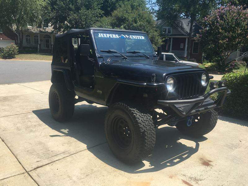 1997 jeep wrangler for sale by owner in huntersville nc 28078. Black Bedroom Furniture Sets. Home Design Ideas