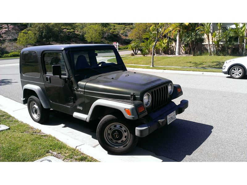 1998 jeep wrangler for sale by private owner in corona ca 92881. Black Bedroom Furniture Sets. Home Design Ideas