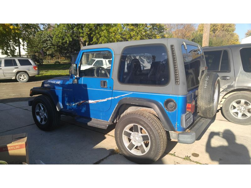 1999 jeep wrangler for sale by owner in new baltimore mi. Black Bedroom Furniture Sets. Home Design Ideas