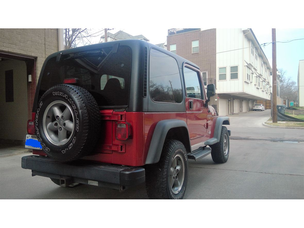 used 1999 jeep wrangler for sale by owner in dallas tx 75398. Black Bedroom Furniture Sets. Home Design Ideas
