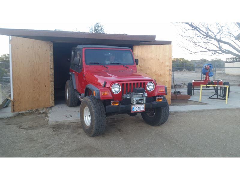 2000 jeep wrangler for sale by owner in palm desert ca 92261. Black Bedroom Furniture Sets. Home Design Ideas