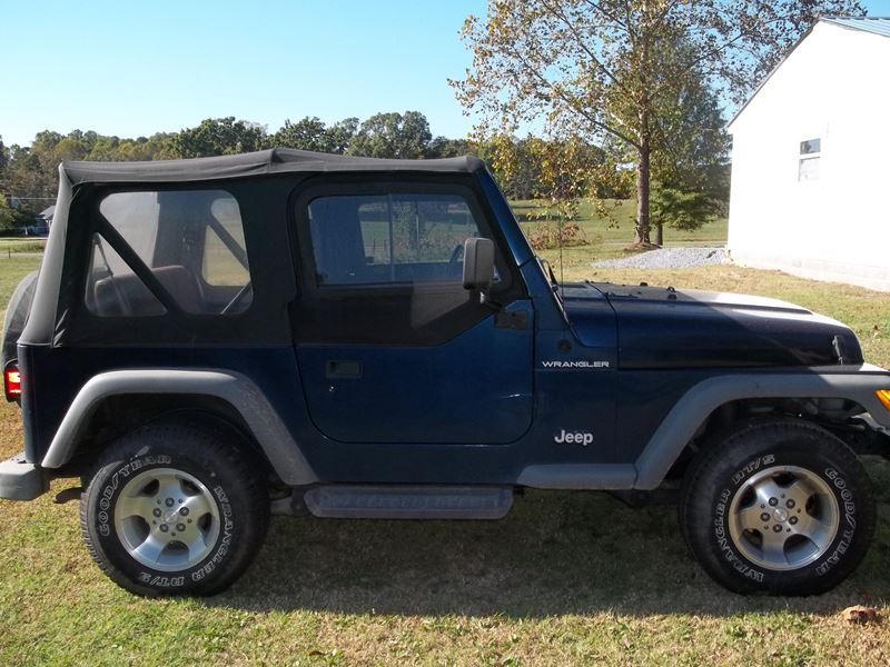 2000 jeep wrangler for sale by owner in bessemer city nc 28016. Black Bedroom Furniture Sets. Home Design Ideas