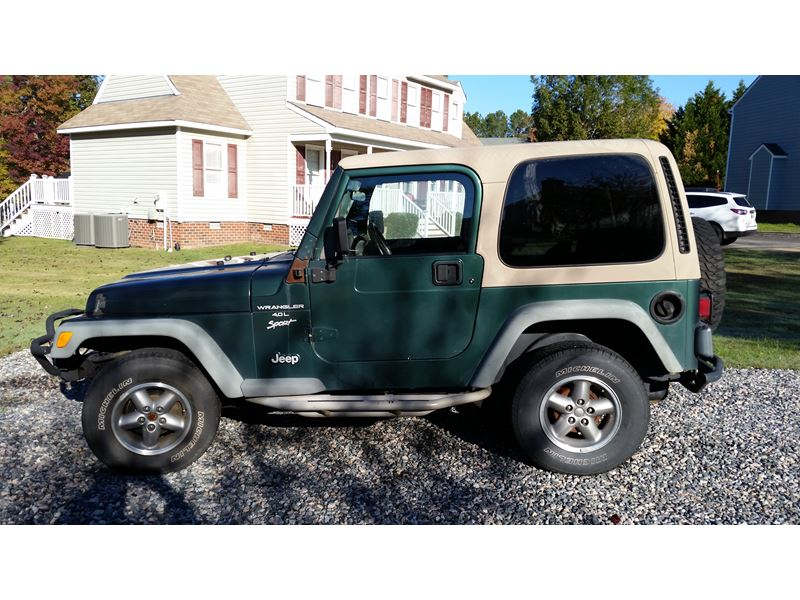 2001 jeep wrangler for sale by private owner in midlothian va 23114. Black Bedroom Furniture Sets. Home Design Ideas