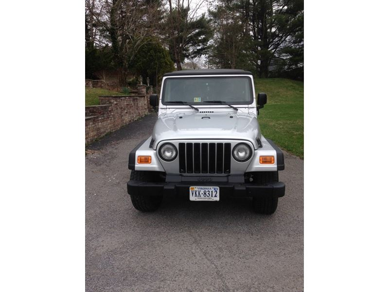 used 2005 jeep wrangler for sale by owner in duffield va. Black Bedroom Furniture Sets. Home Design Ideas