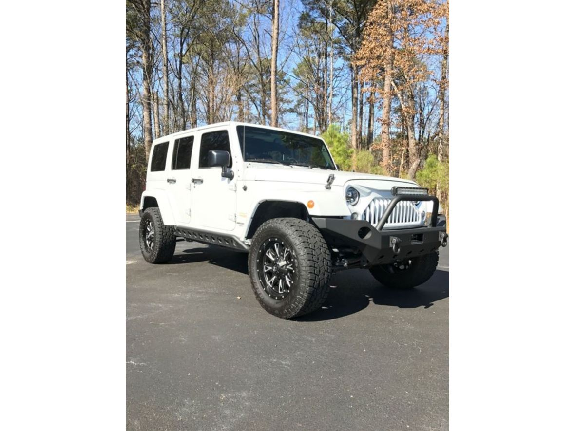 2014 Jeep Wrangler for sale by owner in Liberty