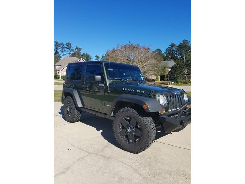 2008 jeep wrangler rubicon for sale by private owner in mandeville la 70471. Black Bedroom Furniture Sets. Home Design Ideas