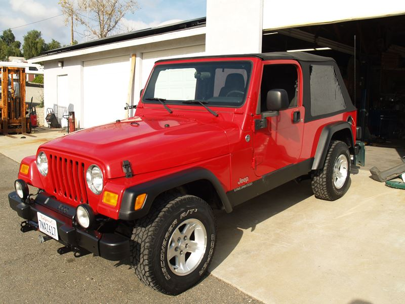 2006 jeep wrangler unlimited sale by owner in ramona ca 92065. Black Bedroom Furniture Sets. Home Design Ideas