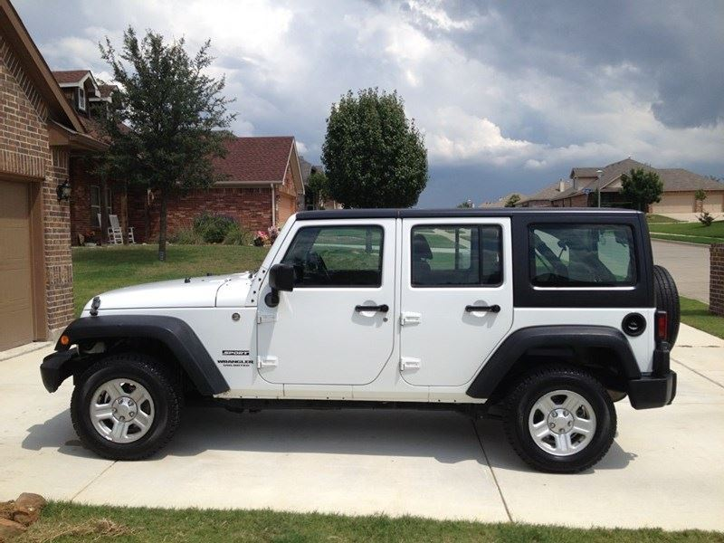 2013 Jeep Wrangler Unlimited By Owner In Weatherford  Tx 76088