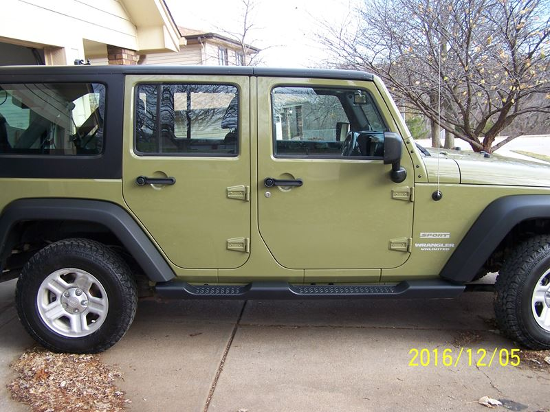 2013 jeep wrangler unlimited for sale by private owner in omaha ne 68198. Black Bedroom Furniture Sets. Home Design Ideas