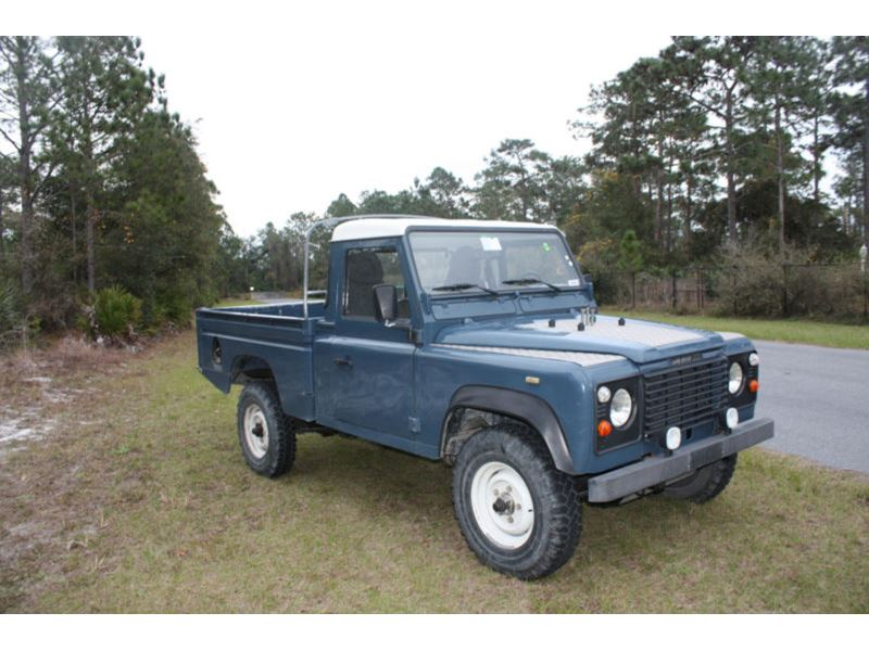 1989 land rover defender classic car for sale by owner in miami beach fl 33239. Black Bedroom Furniture Sets. Home Design Ideas