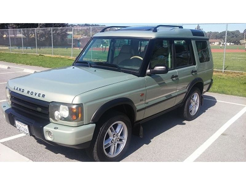 2003 land rover discovery for sale by private owner in san. Black Bedroom Furniture Sets. Home Design Ideas