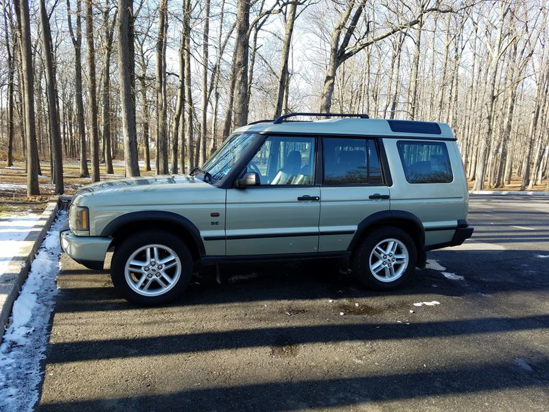2003 land rover discovery series ii for sale by private owner in edison nj 08899. Black Bedroom Furniture Sets. Home Design Ideas