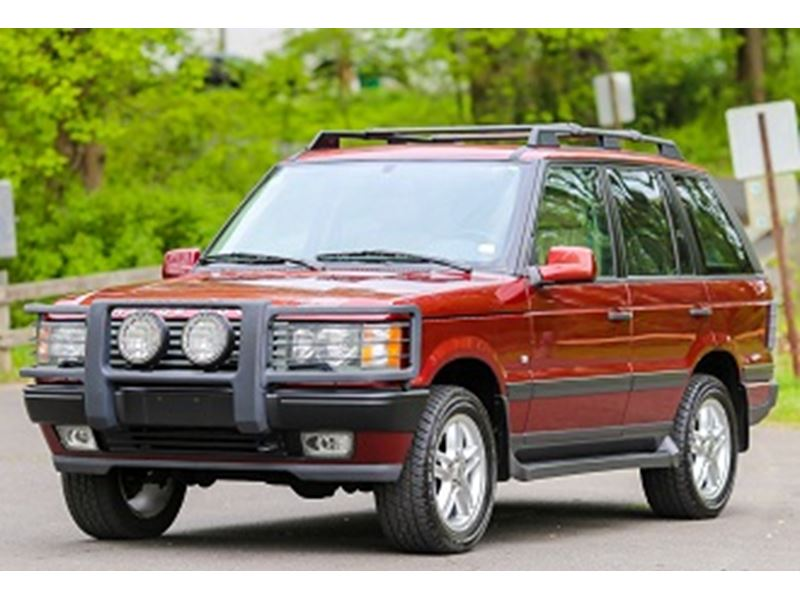 2000 land rover range rover for sale by owner in chicago il 60701. Black Bedroom Furniture Sets. Home Design Ideas