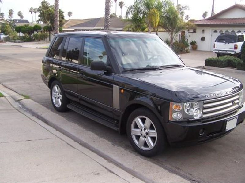 2003 land rover range rover for sale by owner in cleveland tn 37323. Black Bedroom Furniture Sets. Home Design Ideas