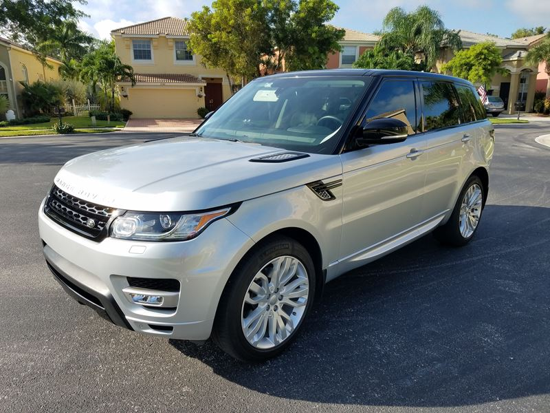 2015 land rover range rover sport by owner west palm beach fl 33419. Black Bedroom Furniture Sets. Home Design Ideas
