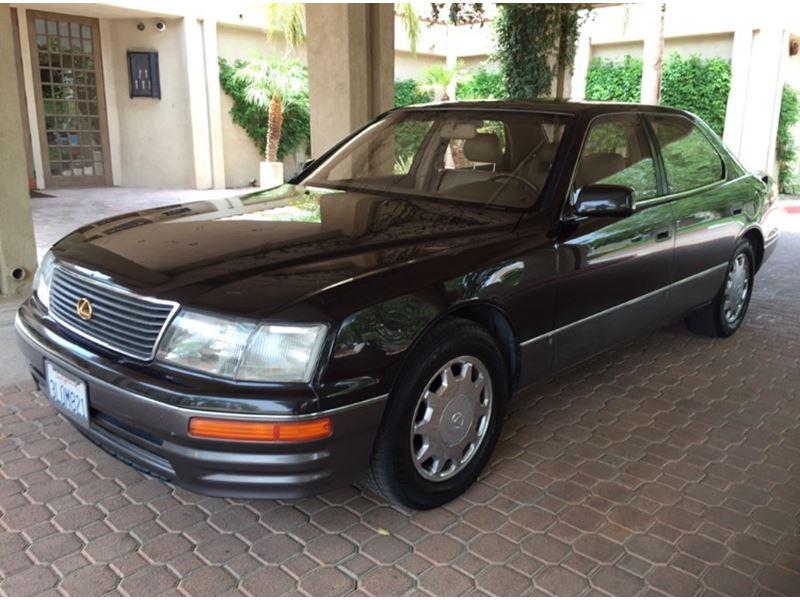 1995 lexus ls 400 for sale by owner in palm desert ca 92261. Black Bedroom Furniture Sets. Home Design Ideas