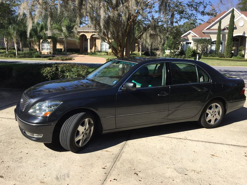 used 2004 lexus ls 430 for sale by owner in jacksonville. Black Bedroom Furniture Sets. Home Design Ideas