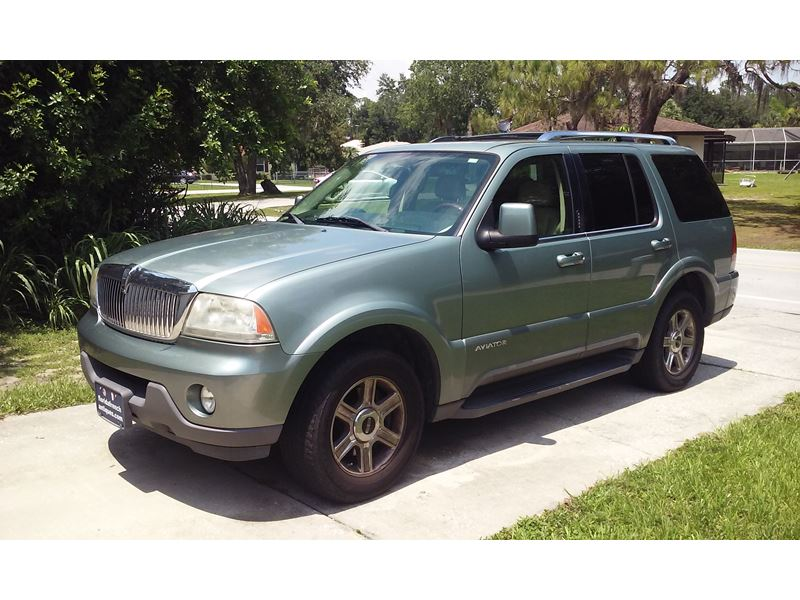 2005 lincoln aviator for sale by owner in port charlotte. Black Bedroom Furniture Sets. Home Design Ideas
