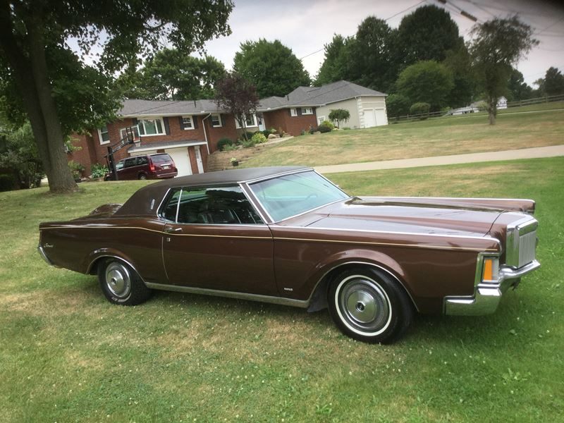 1971 lincoln continental mark iii antique car canton oh 44750. Black Bedroom Furniture Sets. Home Design Ideas