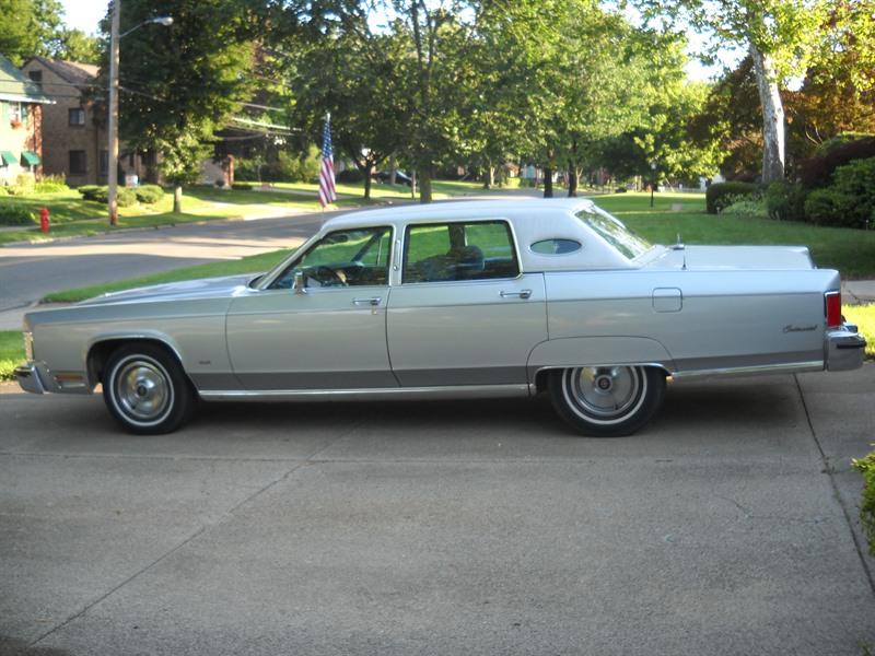 1979 lincoln town car classic car jackson mi 49203. Black Bedroom Furniture Sets. Home Design Ideas