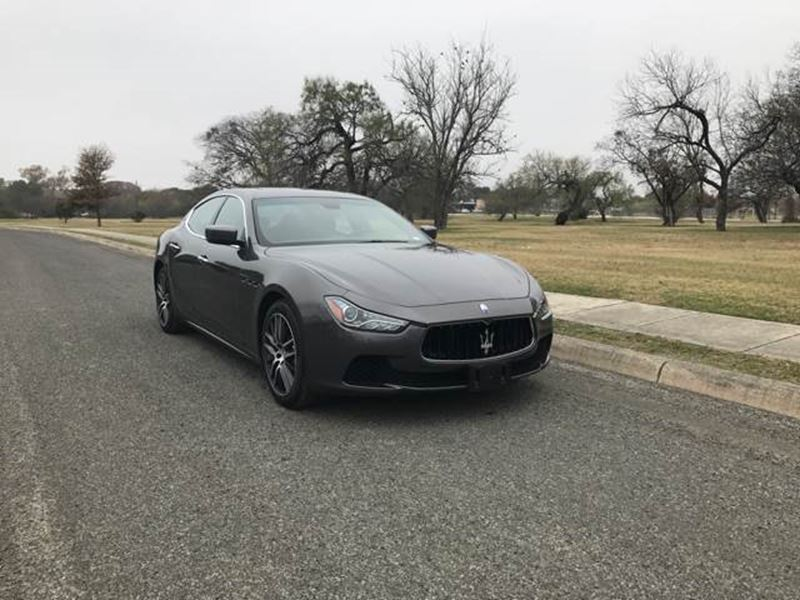 2014 maserati ghibli private car sale in san antonio tx 78299. Black Bedroom Furniture Sets. Home Design Ideas