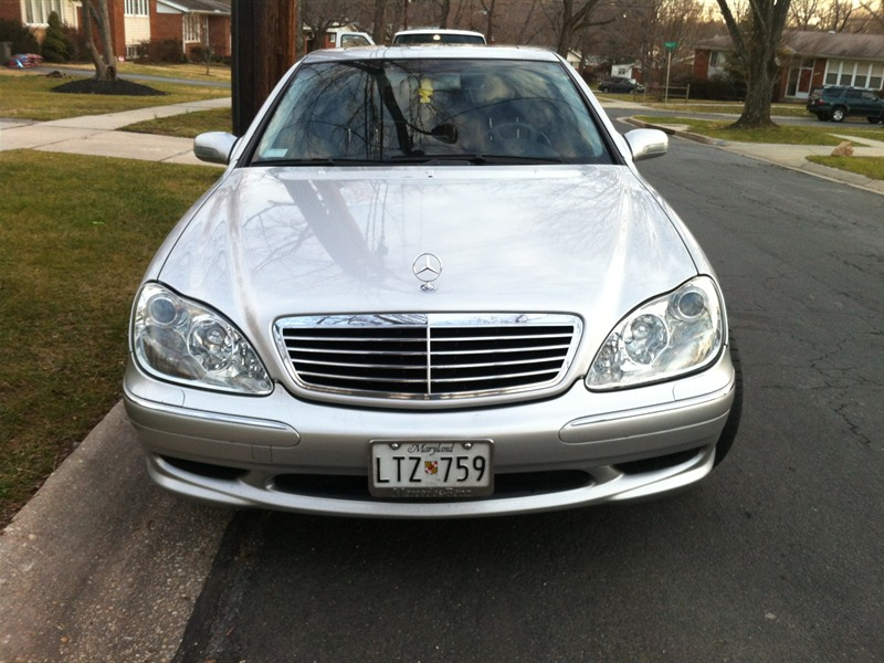 2000 mercedes benz s 500 for sale by owner in rockville for Mercedes benz maryland