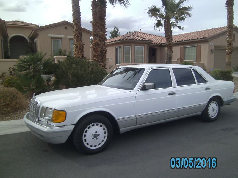 1991 mercedes benz 300 sel classic car by owner las for Mercedes benz used car locator