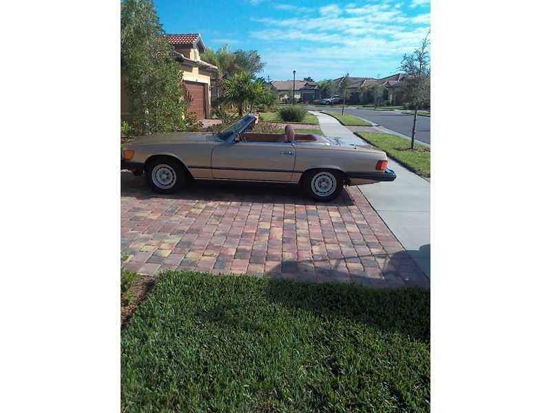 1985 mercedes benz 380 classic car venice fl 34293 for Mercedes benz for sale by owner in florida