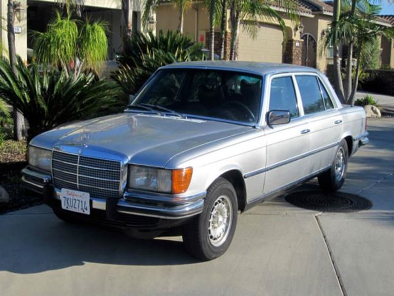 1978 mercedes benz 400 classic car by owner garden grove