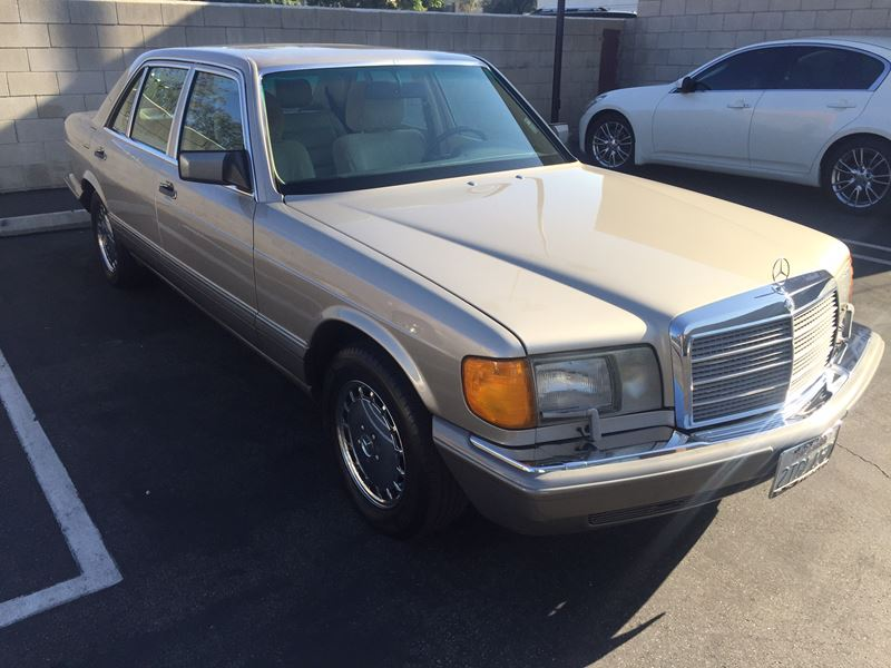 1990 mercedes benz 420 classic car for sale by owner in