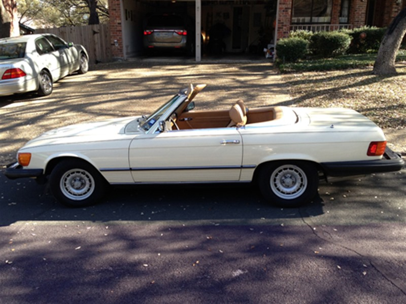 1980 mercedes benz 450sl classic car by owner san for San antonio mercedes benz dealers