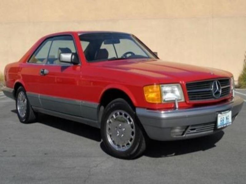 1988 mercedes benz 500 classic car san jose ca 95192 for Mercedes benz used car locator