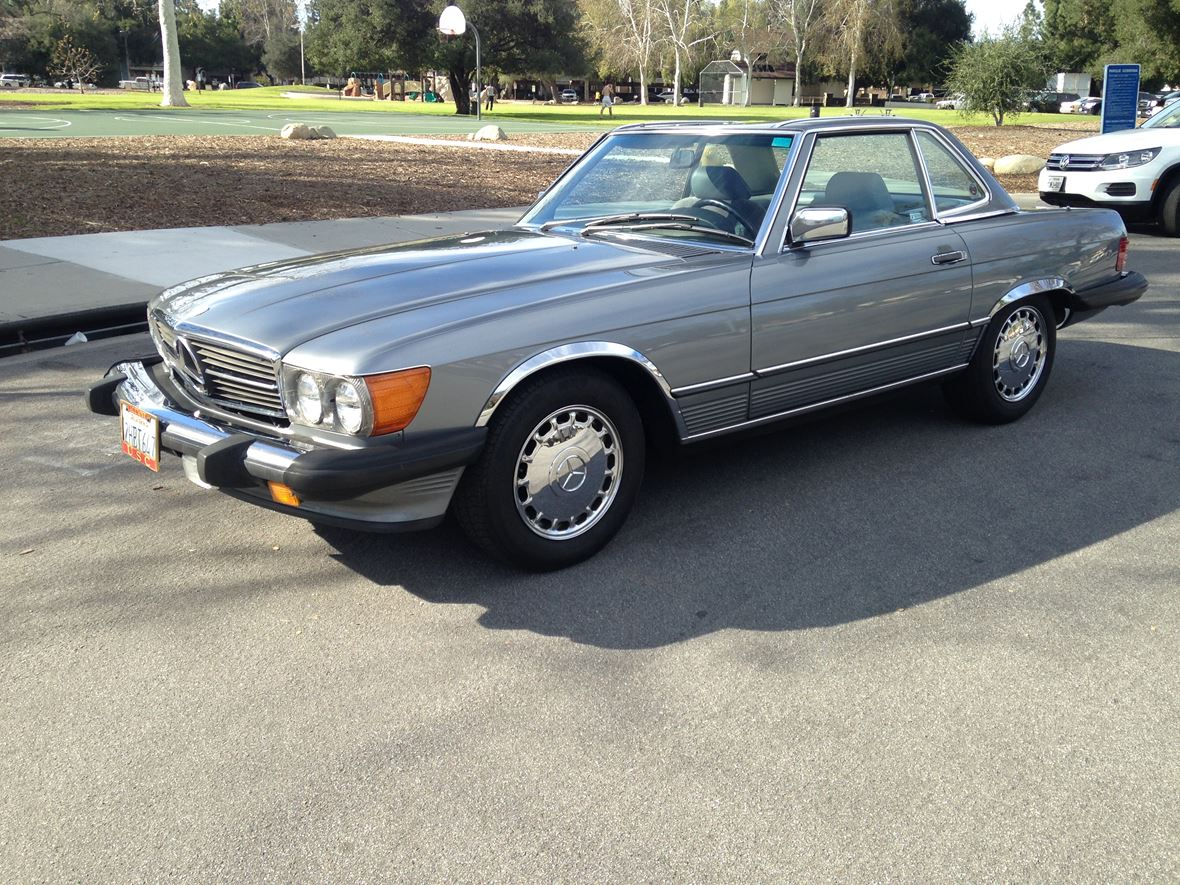 1988 mercedes benz 560 classic car thousand oaks ca 91362 for Used mercedes benz for sale in california