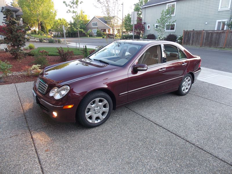 2006 mercedes benz c 350 for sale by owner in portland or for Mercedes benz used cars for sale by owner