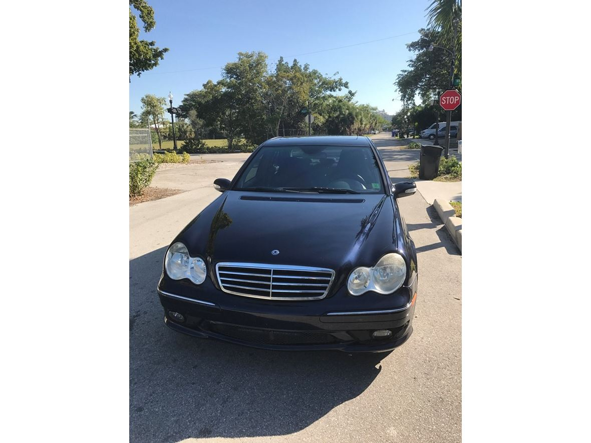 2006 mercedes benz c class by owner in fort lauderdale fl for Mercedes benz c class 2006 for sale