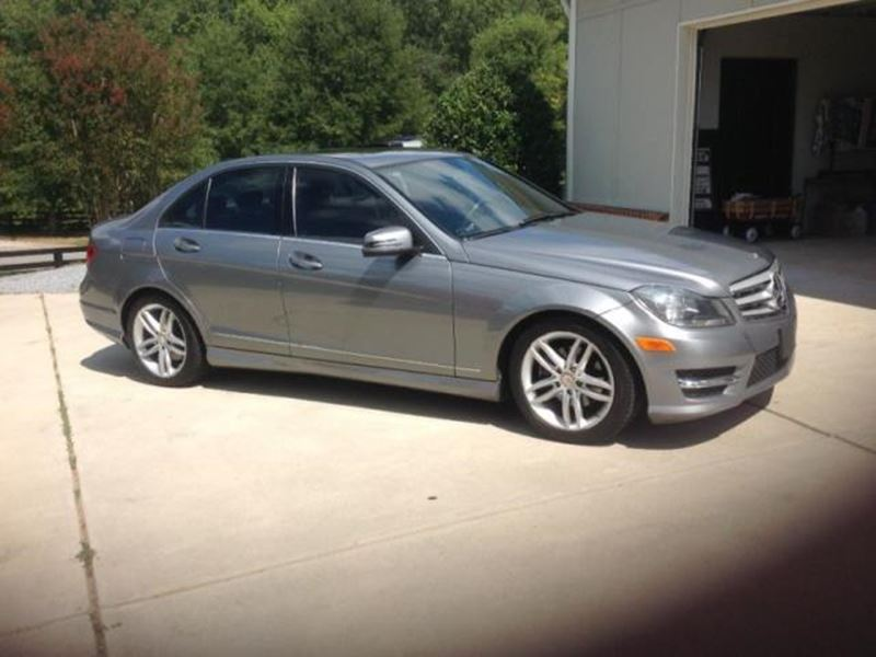 2012 mercedes benz c class private car sale in atlanta for Used mercedes benz in atlanta ga